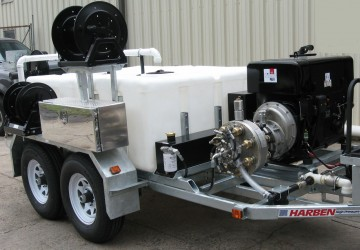 A Jetter Frame that lasts as long as a Harben® Pump